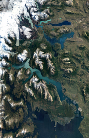 Patagonian International Marathon Map and Route Profile Patagonia, Chile