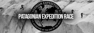 Patagonian Expedition Race Event Chilean Patagonia Team Expedition Patagonia, Chile Banner Black White