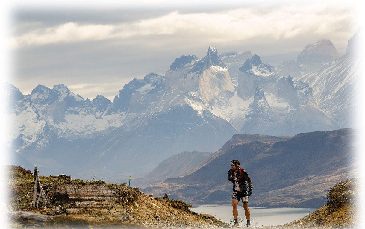 Ultra Trail Torres del Paine Chilean Patagonia Trail Running Patagonia, Chile